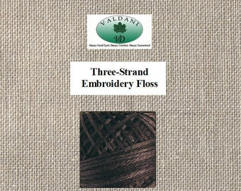 Valdani - Three Strand Floss - Hand Dyed - Earth Shades O145 - Twenty Nine Yards