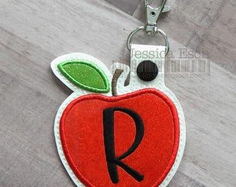 Teacher Appreciation Keychain, Teacher Gift, Teacher Appreciation Gift, Teacher Keychain, Apple Keychain, Key Chain, Bag Tag, Teacher Apple