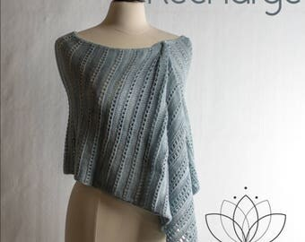 Recharge Shawl Yarn Kit in your choice of color - Just Breathe