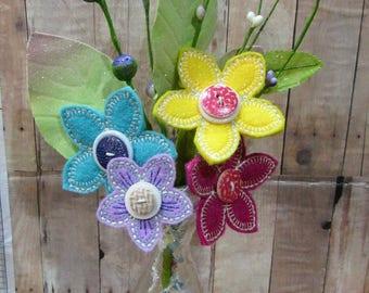 Summer Flower Floral Bouquet