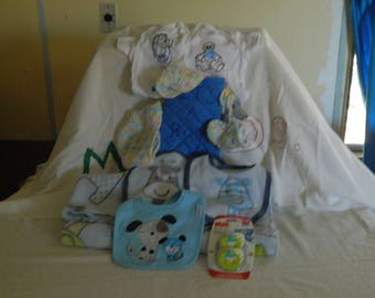 new born baby gift mitt set