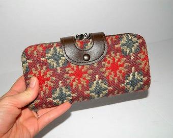 Vintage 1960s Tapestry Wallet