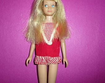 Vintag Skipper Blonde Hair Straight Legs.