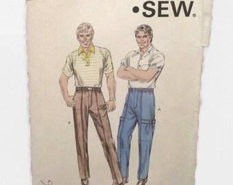Kwik Sew 1473 Mens Pants UNCUT