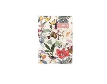 Petit Carnet, 30 pages, Botanique, carnet A6, petit cahier, cadeau femme, nouveauté, cadeau collègue.