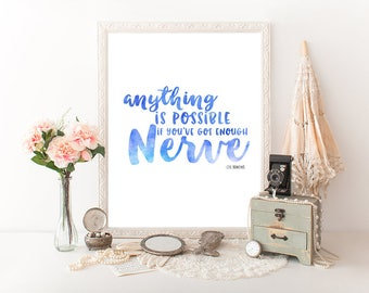 JK Rowling Quote, JK Rowling Print, Harry Potter Gift
