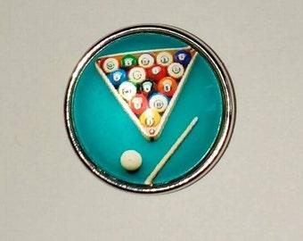 Billiard 18mm snap