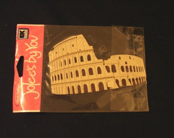Jolee's By You-Roman Coliseum- 1 Dimensional Sticker-Brand New-EK Success
