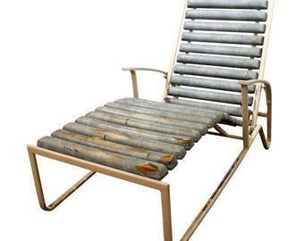 Mid-Century Lounge Chair Danish Modern Samsonite Outdoor Patio Metal Lounge Chair #2