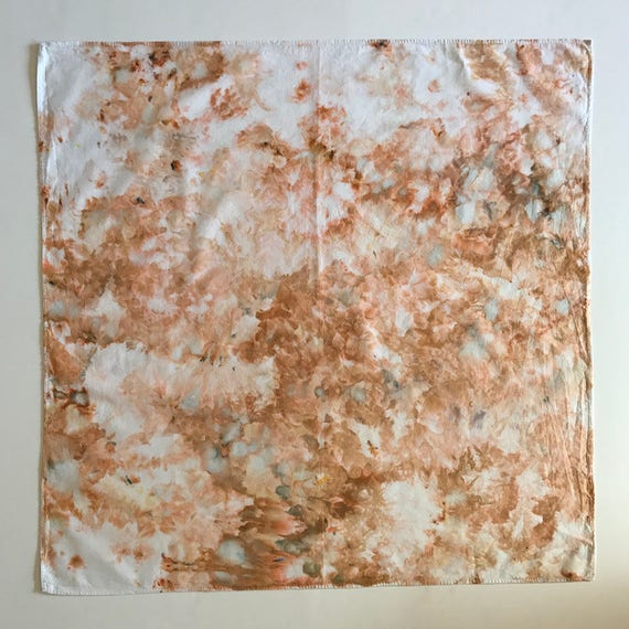 Beige Watercolor Bandana