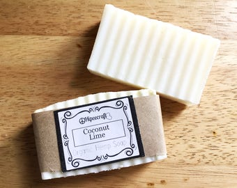 Organic Soap Organic Soap Bar Organic Hemp Soap Coconut Lime Bar Soap