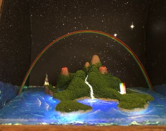 Neverland Shadow Box Diorama Inspired by Peter Pan