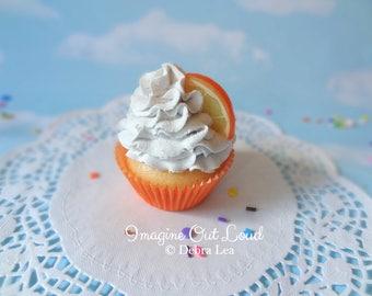 Fake Cupcake Handmade Fake Orange Creamsicle Cupcake Orange Slice Vanilla