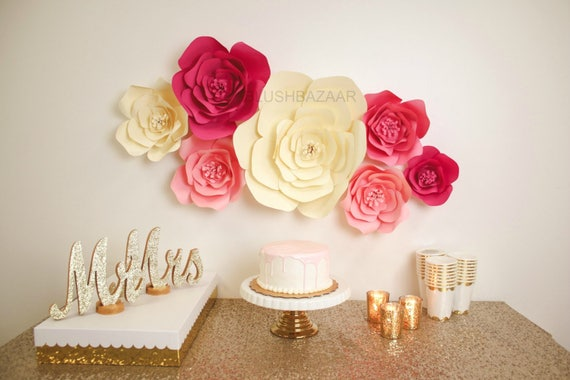 Large medium or small paper flower large paper flower fully il570xn mightylinksfo