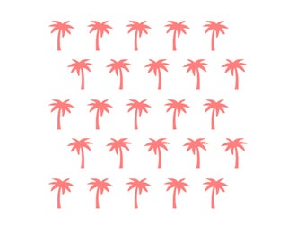Palm Tree Cookie Stencil, Palm Tree Baking Stencil, Tropical Cookies, Tropical Stencil, 5.5 x 5.5, Luau Cookies, Palm Tree Cookies