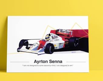 Ayrton Senna McLaren F1 Tribute - LIMITED EDITION