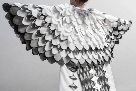 Like this item? & Kids Costume Snow Owl Costume Halloween Bird Cape Harry