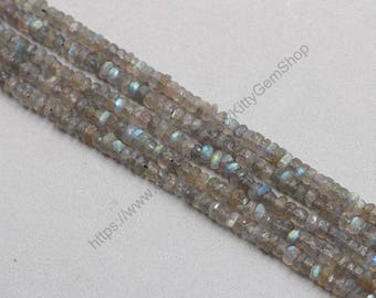 5-6mm Raw Labradorite Beads Center Drilled Wholesale Genuine Labradorite Loose Bead Round Ball With Well Ploished MHA-183