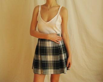 70s White Cotton Cami S M L
