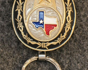 IN STOCK UNLESS Personalized - Key Chain  - A perfect gift for men or women!  Not just Texas proud, American proud!