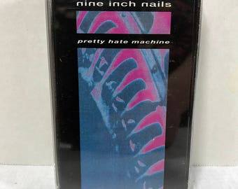 Nine Inch Nails Pretty Hate Machine cassette tape 1989 Industrial Trent Reznor