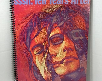 Ten Years After Album Cover Notebook Handmade Spiral Journal
