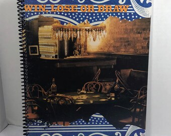 Allman Brothers Band Album Cover Notebook Handmade Spiral Journal - Win Lose or Draw