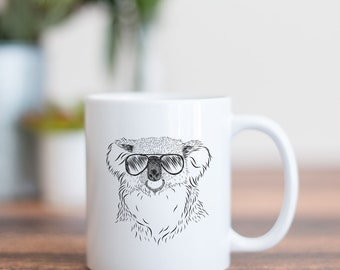 Bentley the Koala - Gifts For Animal Lover, Koala Art, Koala Bear gift, Aussie, Australian