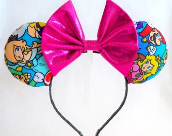 Nintendo Super Mario Brothers Minnie Mouse Ears Headband