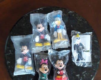 Vintage 1980's - 90's Walt Disney Bobble Head/Bendable Figurines / Jack in the  Box Bendable Figurine / NIP