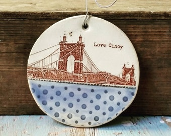 Roebling Bridge Ornament