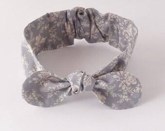 baby girl headband/ cotton headwrap baby/ headband bow knot/ knot headband/ top knot toddler/ knotted headband/ toddler headwrap