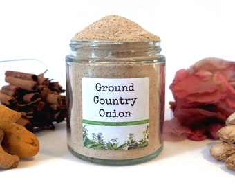 Ground Country Onion Rare African Cameroonian Gourmet Spice Cooking Chef Foodie Gift