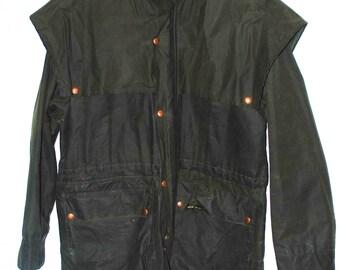 Vintage Outback Trading Company Oilskins Swagman Jacket. Size S.