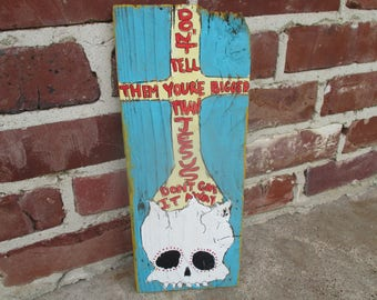 drive-by truckers lyrics painting, outfit lyrics, Jason Isbell, drive-by truckers band, lyrics art, music lyrics, skull painting, skull art