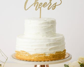 Cheers Cake Topper