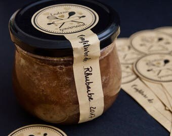 10 labels for your homemade jams pots