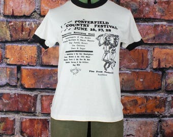 5th Annual Porterfield Country Festival Vintage T-Shirt