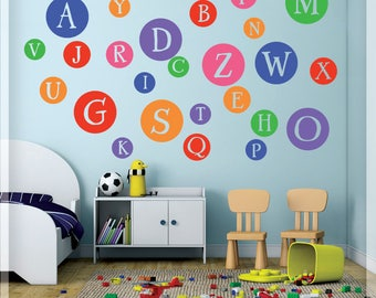 Alphabet Wall Decals | Etsy Part 83