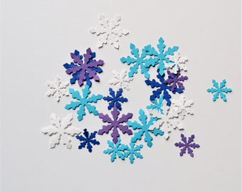 Snowflake Confetti - Any Color - Paper Snowflake Confetti - Paper Snowflake - Frozen Confetti - Christmas Confetti - Winter Confetti