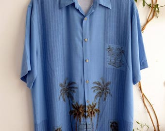 BLUE HAWAIIAN, size M