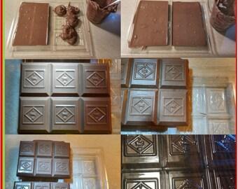 Wholesale Marijuana - Cannabis chocolate bar molds - LOWER PRICE keep kids safe