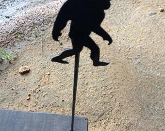 Bigfoot/Sasquatch Garden Stake