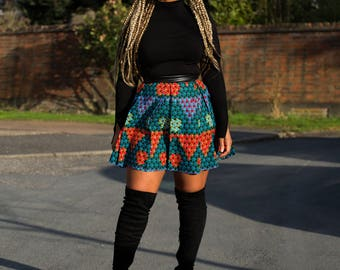 SO LONDON Skater Skirt