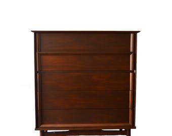 SOLD **** Mid-Century Dresser RESTORED