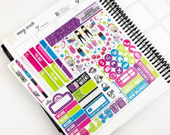 Jackpot // Ultimate Weekly Planner Kit (Glossy Planner Stickers)