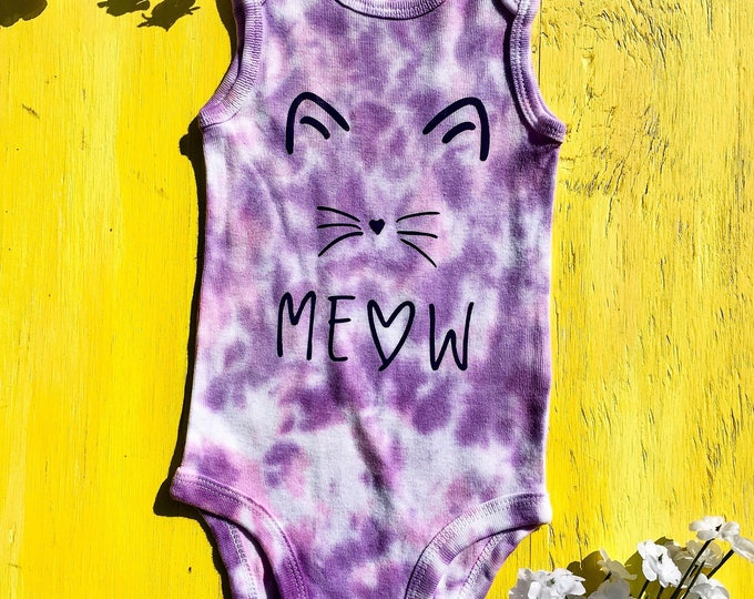 Meow kitty Cat Onesie
