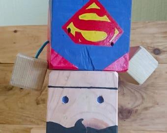 Superman Block Buddy