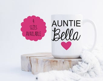 Auntie Coffee Mug Pregnancy Announcement Coffee Mug
