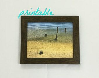 Digital Download Art, Coastal Decor, Printable Art, Landscape Photography, Coastal Wall Art, Christmas Gift, Beach Decor, Nautical Decor